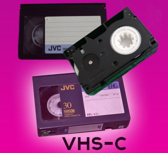 VHS-C naar DVD of usb